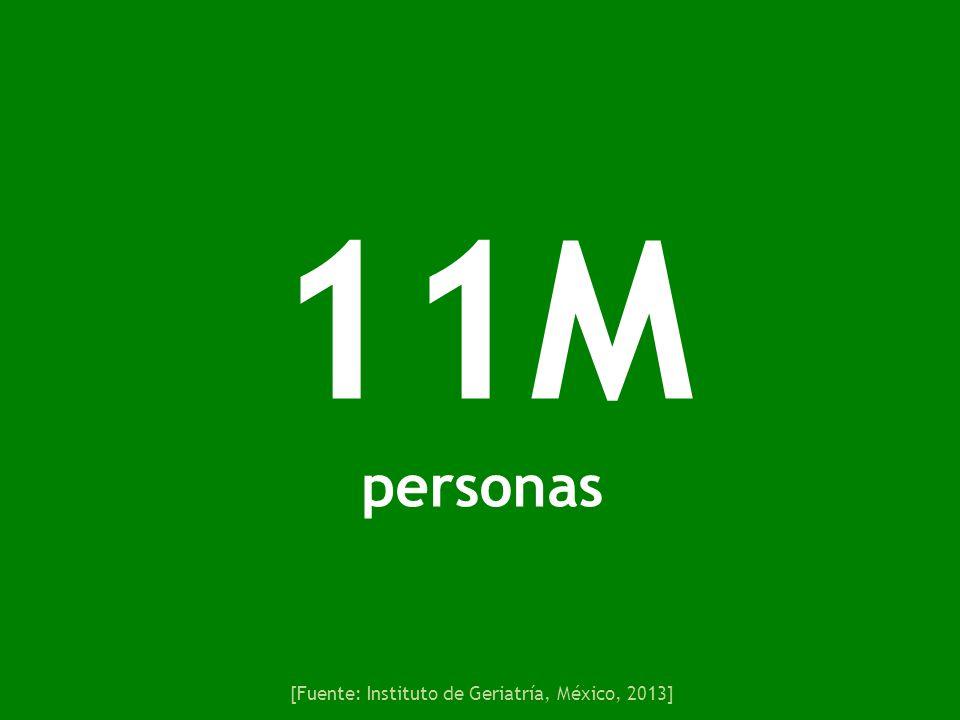 [Fuente: Instituto de Geriatría, México, 2013]